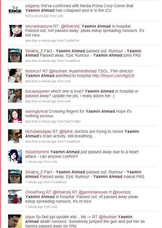yasmin ahmad twitter